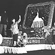 1954 Illinois State Society Float