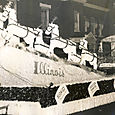 1953 Illinois State Society float