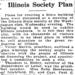 Washington Post Article about Illinois Society Plan