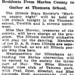 Wahington Post April 23, 1923