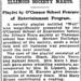 Washington Post Nov. 17, 1921