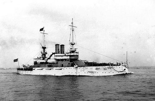USS Illinois Battleship No. 7 (BB-7)