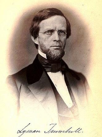 Senator Lyman Trumbull about 1856