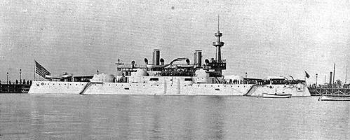 USS Illinois Battleship 1893