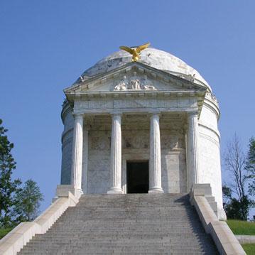Illinois Monument at Vicksburg, Mississippi