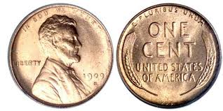 Lincoln penny of 1909