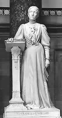 1905 Statue of Frances Willard Dedicated