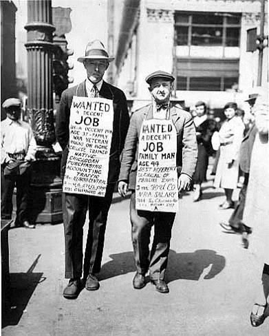 700,000 Illinoisans lose jobs in 1930