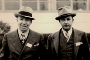 Paul and Joe Galvin about 1928