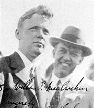 Charles Lindbergh and Bill MacCracken