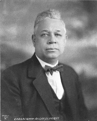 Oscar Stanton DePriest in 1928