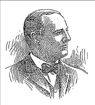 Oscar J. Ricketts, President of the Illinois State Society in 1917
