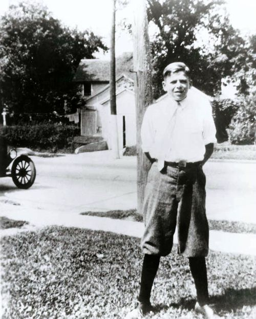 Ronald Reagan in Dixon,Illinois in the 1920s