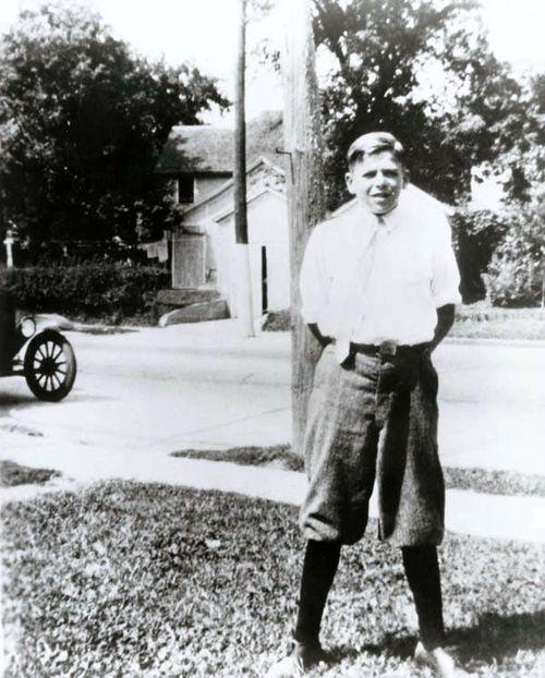 Ronald Reagan in Dixon,Illinois in the 1920s