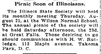 Washington Post Aug. 14, 1919