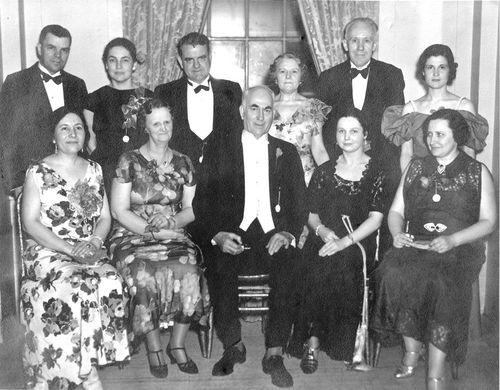 1939-1940 Board of Directors
