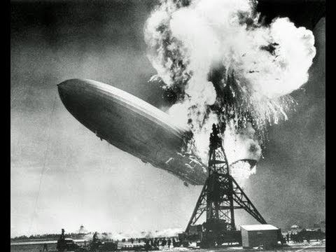 Hindenburg Crash of May 6, 1937
