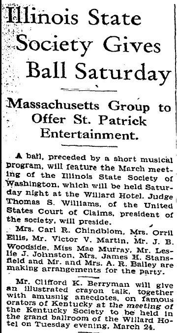 Washington Post March 15, 1931