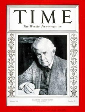 1933 - 1934 Speaker Henry Rainey