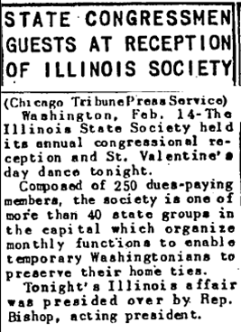 Chicago Tribune Feb. 15, 1948