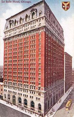Two Illinois Society Presidents Survive The Lasalle Hotel Fire Of 1946