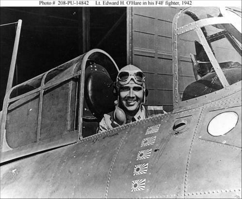 1942: Butch O'Hare saves his ship