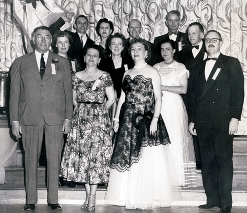 1953 - 1954 Illinois State Society Officers