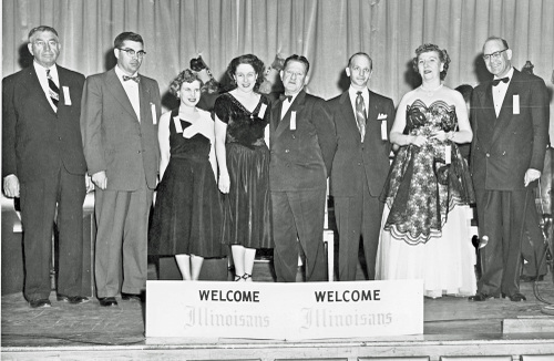 1954-1955 Illinois State Society Officers