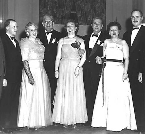 1954 Illinois State Society officers
