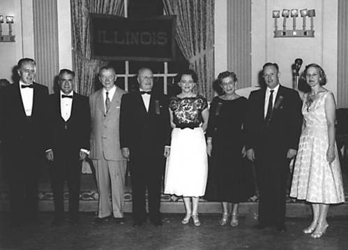 1958-1959 Illinois State Society offiicers