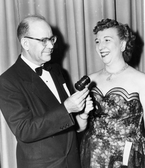 1954-1956 President Richard C. Darnell