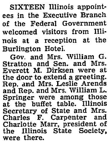 Jan. 20, 1957 Washington Post