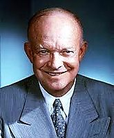 President Eisenhower in 1953