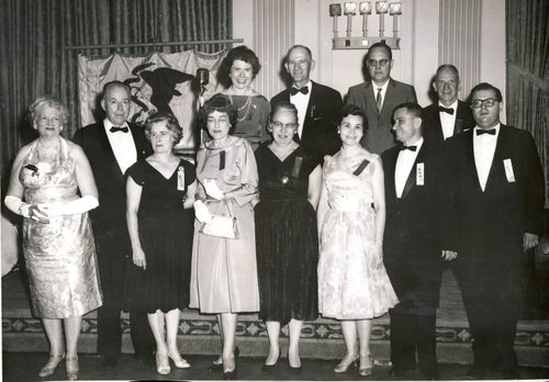 1961-1962 Illinois State Society Officers