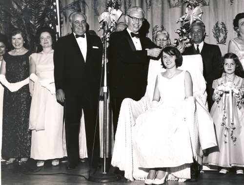 1964 Princess Lolly Howell & Justice Goldberg