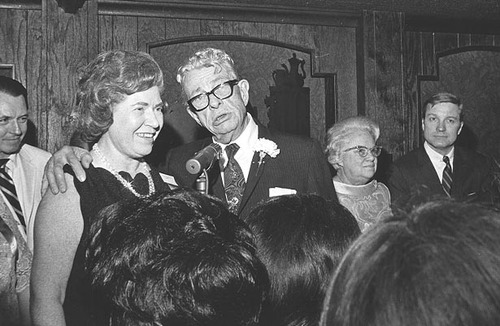 Sen. Dirksen at 1969 Illinois State Society Gala