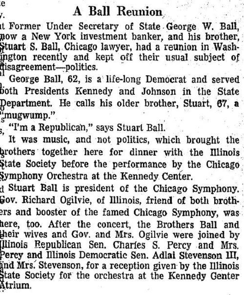 Washington Post Nov. 28, 1971