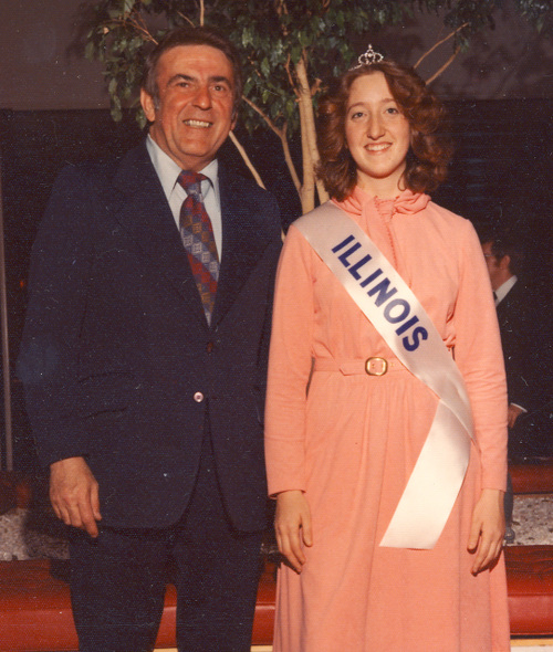 1976 Princess with Cong. Abner Mikva