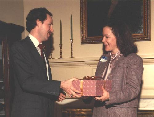John Curry and Mary Fran Coffey 1986