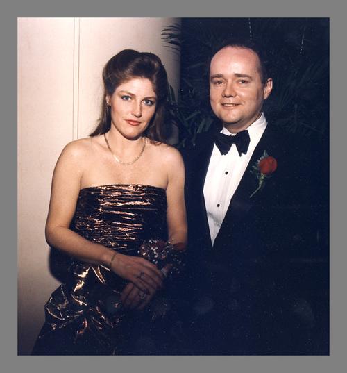 Reneaux Collins and former Sen. Mark Rhoads