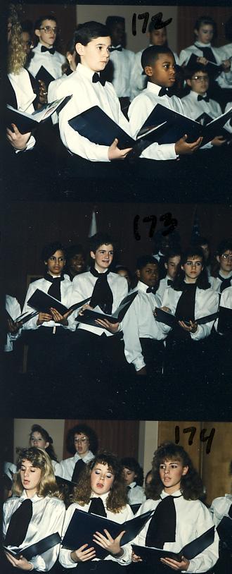 Choir from Roosevelt Magnet School
