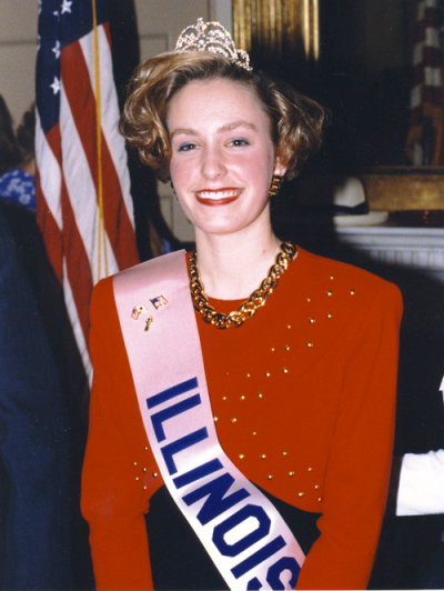 1992 Illinois Cherry Blossom Princess Barbara Blake
