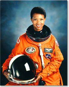 Dr. Mae Jemison in 1992