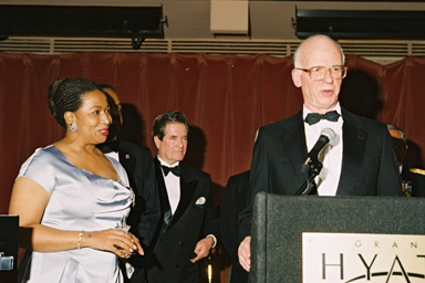 David Broder at 1997 Illinois State Society Gala