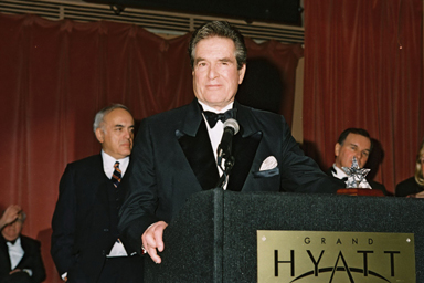 Hugh O'Brian at 1997 Illinois State Society Inaugural Gala