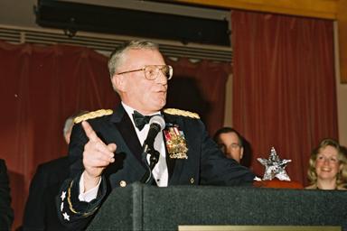 Gen. John Shalikashvili at 1997 Illinois Gala