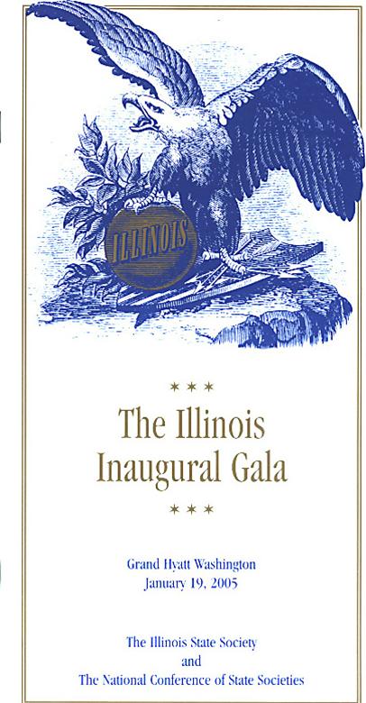2005 Ilinois State Society Inaugural Gala