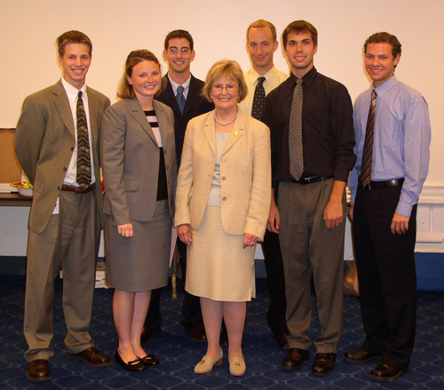 2005 Illinois Congressional interns