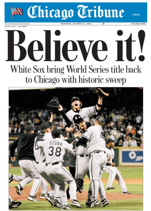 Chicago Tribune Oct. 26, 2005