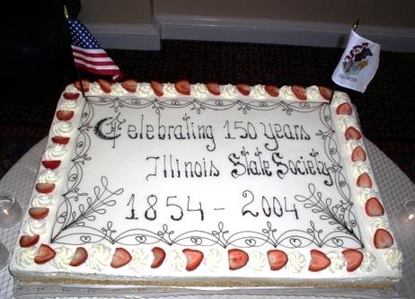 Illinois cake